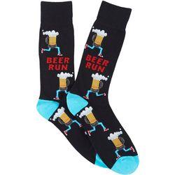 Davco Mens Beer Run Crew Socks
