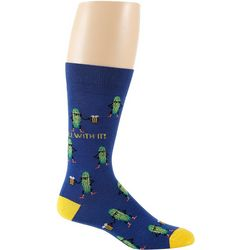 Davco Mens Dill With It Crew Socks