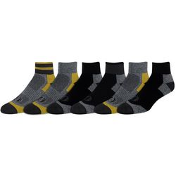 American Outdoor Mens 6-pk. Quarter Socks