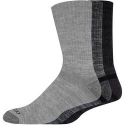 Mens 3-pk. Heathered Performance Crew Socks
