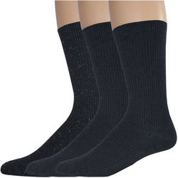 Dockers Mens 3-pk. Lightweight Rib Crew Socks
