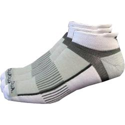 Mens 3-pk. Inferno White Running Socks