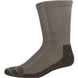 Dickies Mens 2-pk. Non-Binding Crew Socks