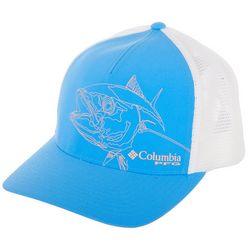 Columbia Mens PFG Picture Bass Flexfit 110 Trucker Hat