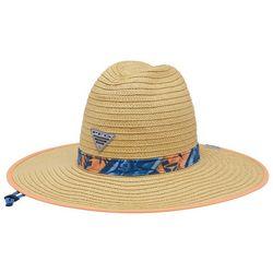 Columbia Mens PFG  Tropical Band Baha Straw Hat