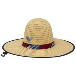 Mens PFG Baha Straw Hat