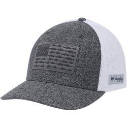 Mens PFG Mesh Fish Flag Heathered Hat
