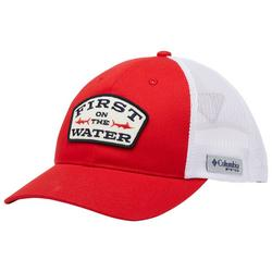 Mens PFG First On The Water Patch Snap Back Hat