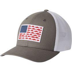 Mens PFG Mesh Fish Flag Flexfit Hat