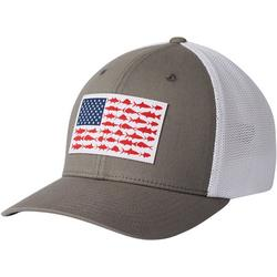 Mens PFG Mesh Fish Flag Flexfit Hat
