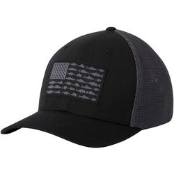Mens PFG Mesh Fish Flag Hat