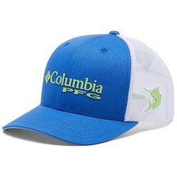 Columbia Mens PFG Mesh Marlin Blue & Lime