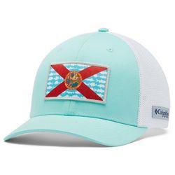 Columbia Mens PFG Florida Fish Flag Trucker Hat