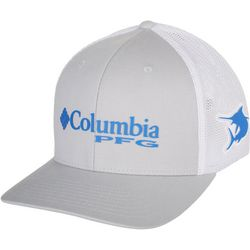 Columbia Mens PFG Flexfit Marlin Patch Mesh Hat