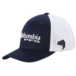 Columbia Mens PFG Mesh Bass Fish Hat