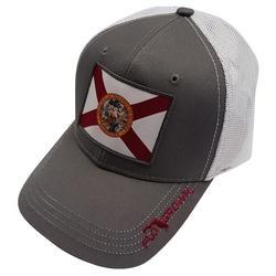 Mens Florida Flag Patch Snapback Hat