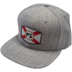 FloGrown Mens Flag Shield Snapback Hat