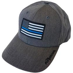 Mens BLue Lives Flag Trucker Hat