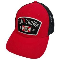 FloGrown Mens Jumbo Crest Patch Snapback Hat