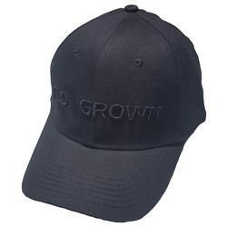 FloGrown Mens Black on Black Hat