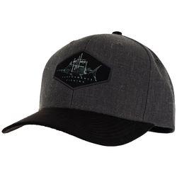Guy Harvey Marlin Suede Snapback Hat