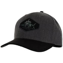 Marlin Suede Snapback Hat