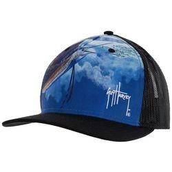 Guy Harvey Lunch Mesh Trucker Hat