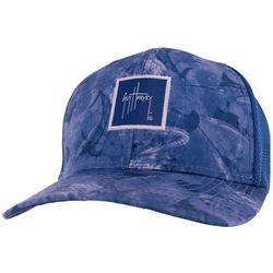 Guy Harvey Saltwater Marbled Mesh Back Trucker Hat