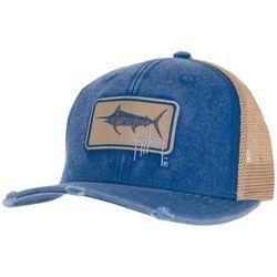 Guy Harvey Billfish Weathered Mesh Back Trucker Hat