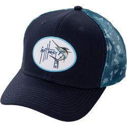 Guy Harvey Mens Camo Trucker Hat