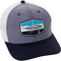 Guy Harvey Mens Chambray Trucker Hat