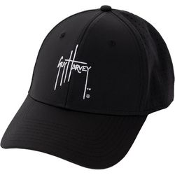 Guy Harvey Mens Perforated Performance Logo Hat