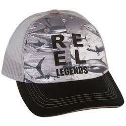 Reel Legends Mens Tuna Trucker Hat