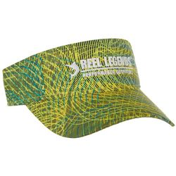 Reel Legends Mens Scan Spiral Performance Visor