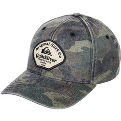 Quiksilver Mens Breakers Camo Snapback Hat