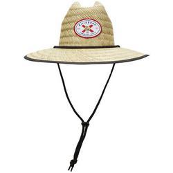 Mens Tides Florida Straw Hat
