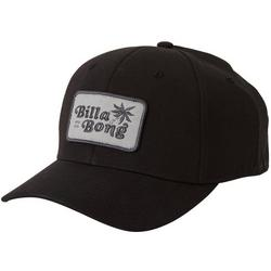 Mens Walled Stretch Palm Logo Hat  Hat