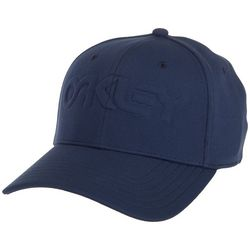 Oakley Mens 6 Panel Embossed Stretch Hat