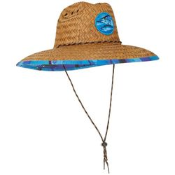 Peter Grimm Mens Tuna Lifeguard Straw Hat