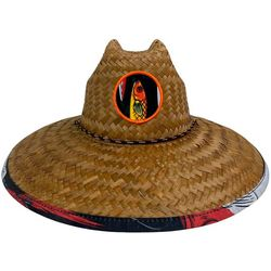 Peter Grimm Mens Lures Lifeguard Straw Hat