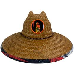 Mens Lures Lifeguard Straw Hat