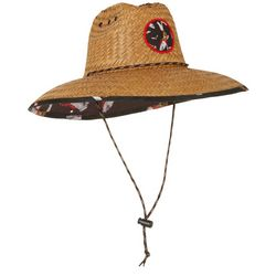 Peter Grimm Mens Florida Lifeguard Straw Hat
