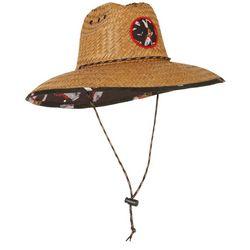 Mens Florida Lifeguard Straw Hat