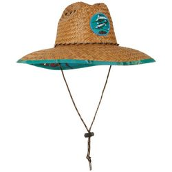Mens Marlin Lifeguard Straw Hat