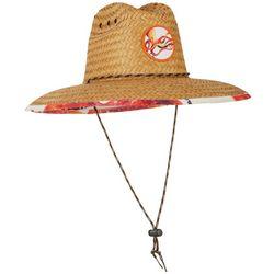 Mens Octopus Lifeguard Straw Hat