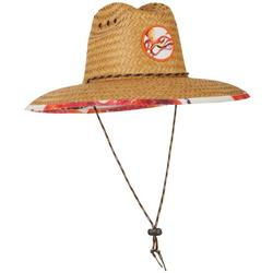 Mens Octopus Lifeguard Straw Hat