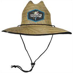 Hook and Tackle Mens Lifeguard Tuna Straw Hat