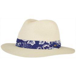 Scala Mens Braided Raffia Palm Safari Hat