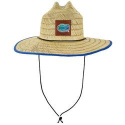 Florida Gators Patch Straw Beach Hat
