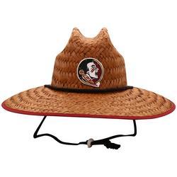 Seminoles Straw Beach Hat